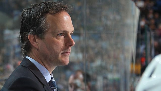 Head coach Jon Cooper of the Tampa Bay Lightning