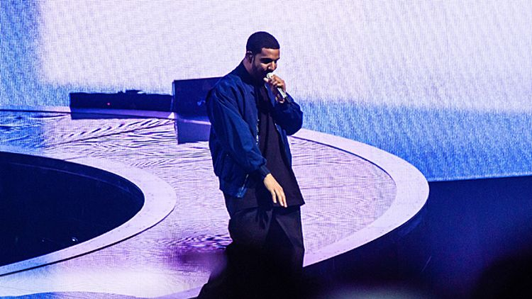 Drake performs during the 'Would You Like A Tour?' concert