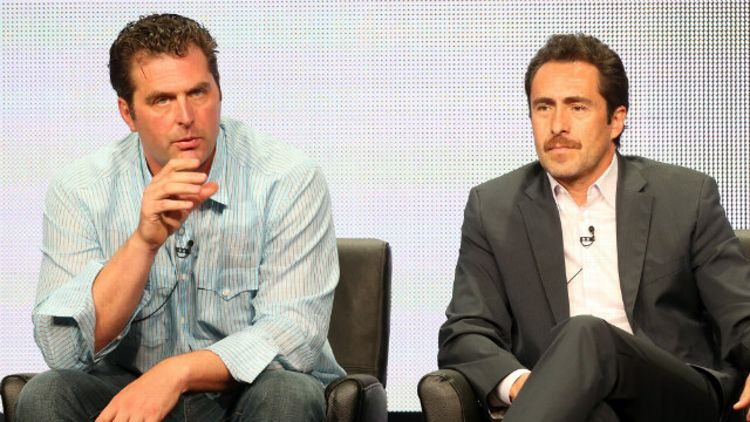 Elwood Reid and Demian Bichir