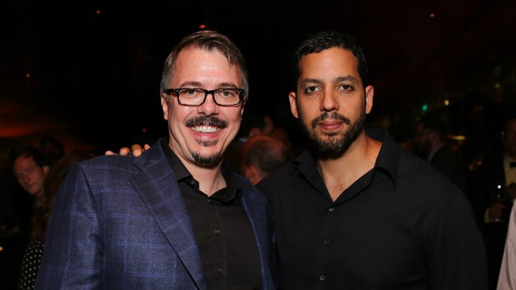 Vince Gilligan and David Blaine