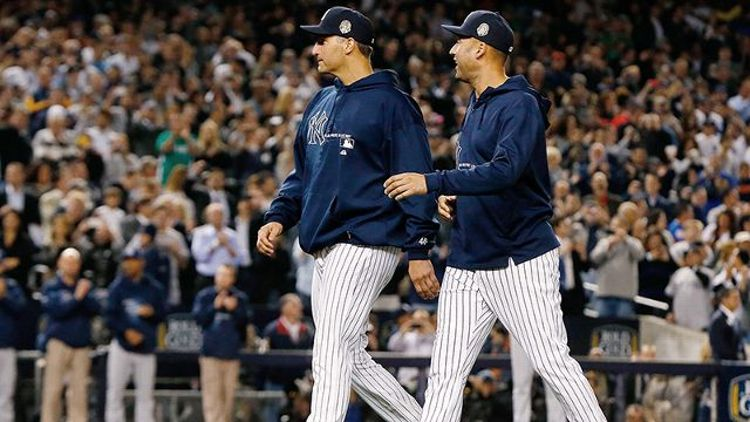 Derek Jeter and Andy Pettitte