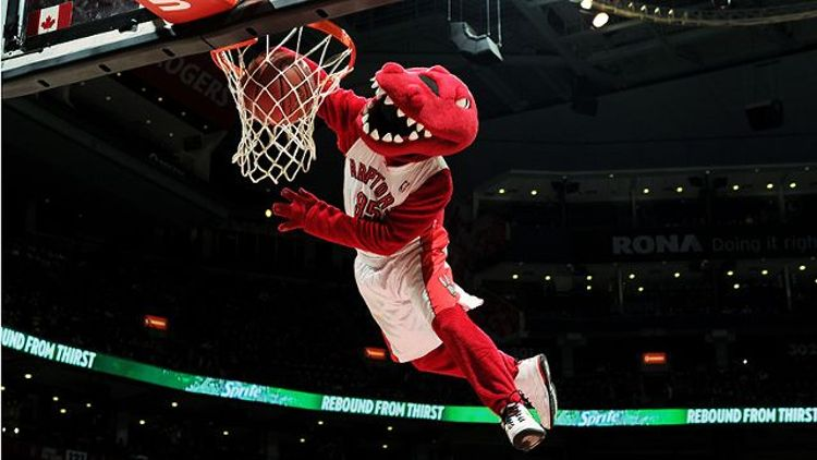 Toronto Raptors mascot