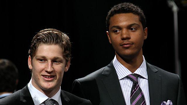 Draft prospects Nathan MacKinnon and Seth Jones