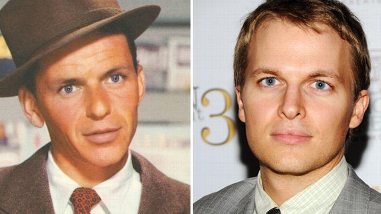 Frank Sinatra and Ronan Farrow