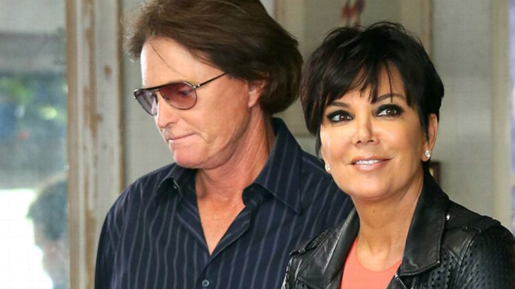 Kris and Bruce Jenner