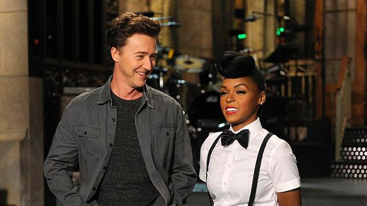 Edward Norton and Janelle Monae on SNL
