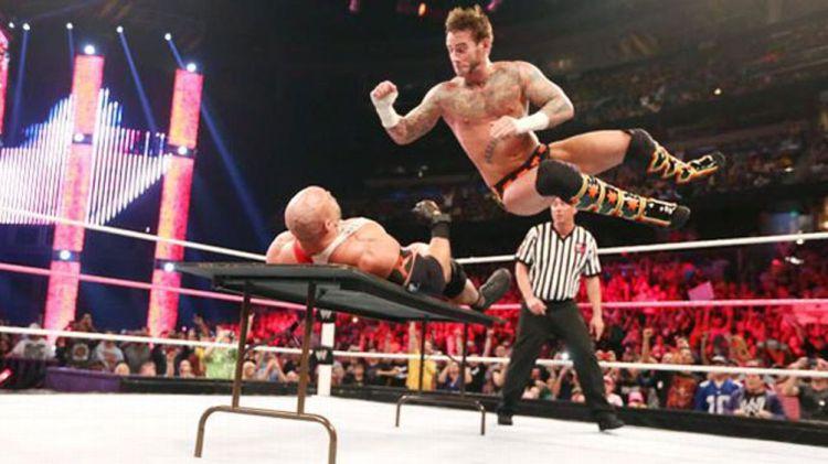 CM Punk - Courtesy of WWE