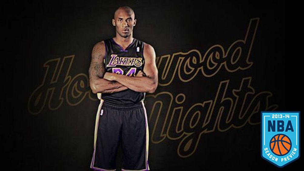 Kobe Bryant - Courtesy of NBA w/ Grantland NBA preview logo