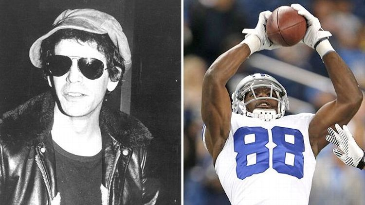 Lou Reed and Dez Bryant
