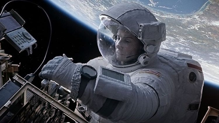 Sandra Bullock in 'Gravity'