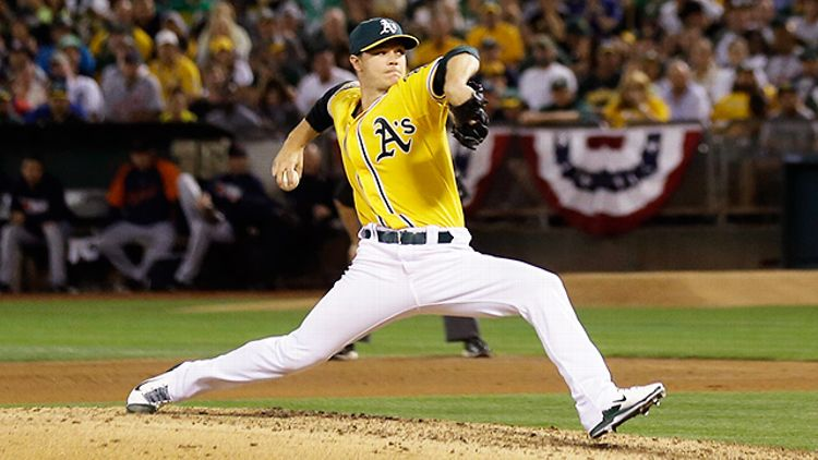 Oakland A's pitcher Sonny Gray