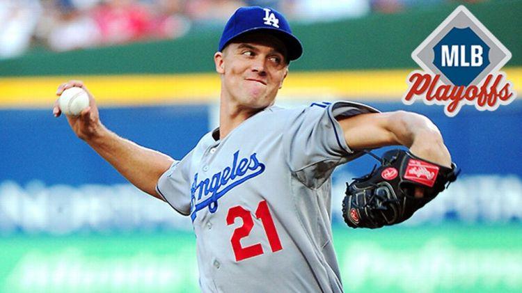 Los Angeles Dodgers pitcher Zack Greinke