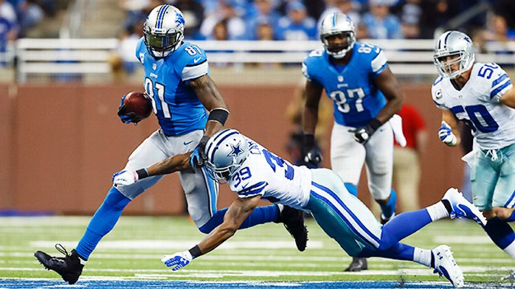 Detroit's Calvin Johnson vs. Dallas Cowboys