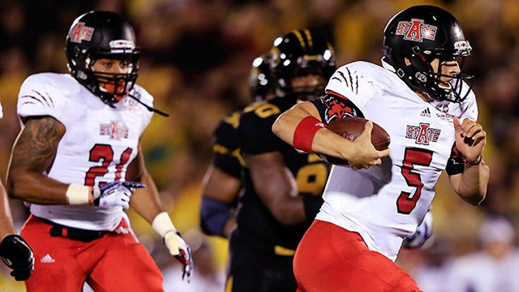 Arkansas State Quarterback Adam Kennedy