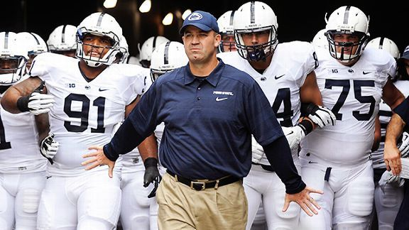 Penn State coach Bill O'Brien
