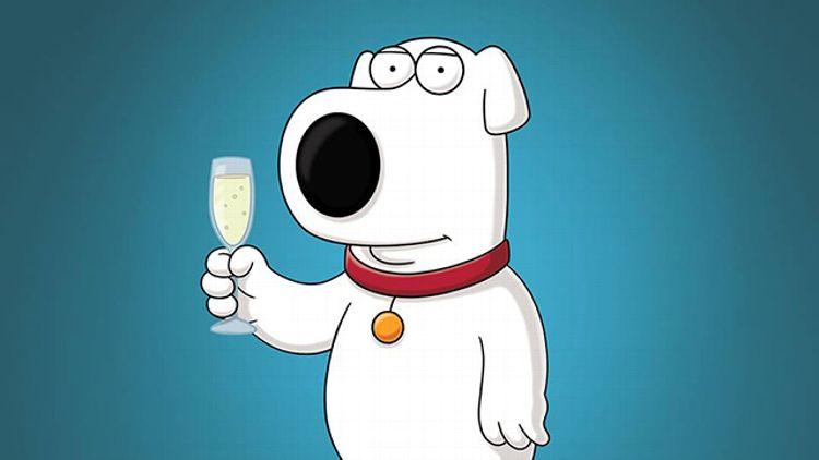 Brian on Family Guy