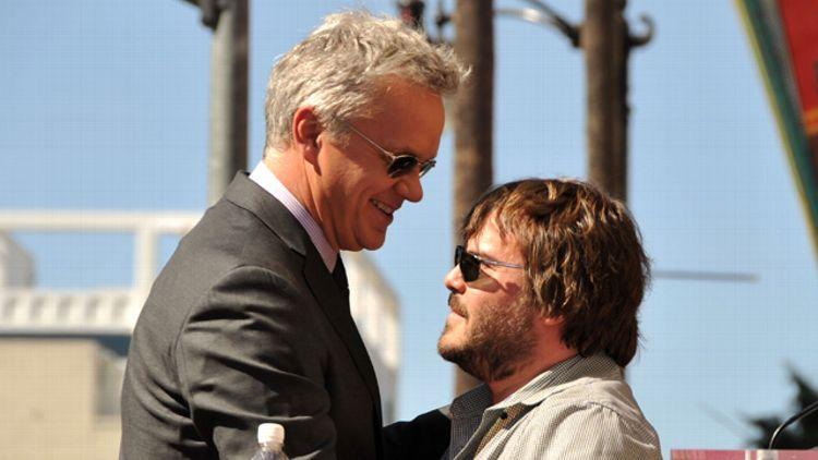 Jack Black and Tim Robbins