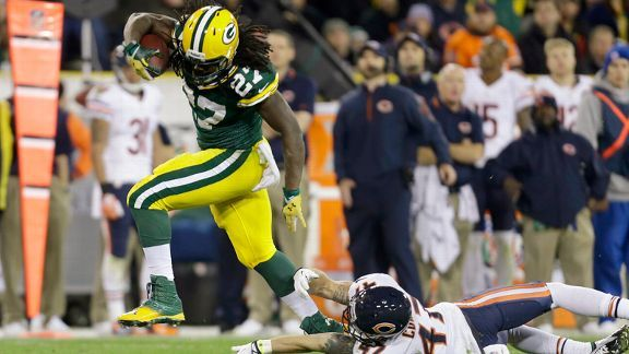 Eddie Lacy, Chris Conte