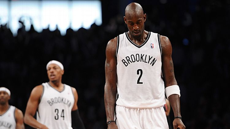 Kevin Garnett #2 of the Brooklyn Nets