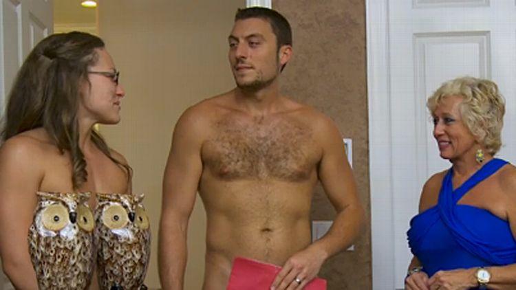 Pregnant nudist Celebrities Posing