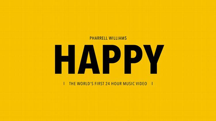 Pharrell Williams 'Happy'