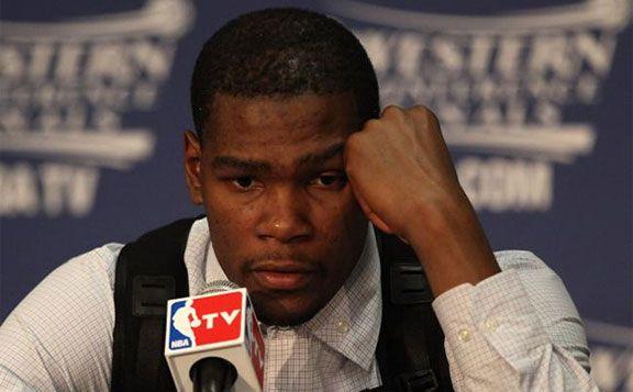 Sad Kevin Durant - NBATV