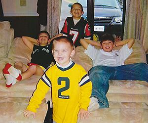 The four Hackenberg brothers