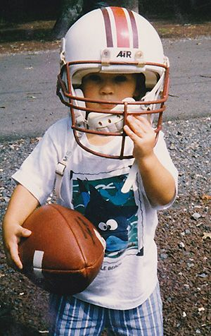 A young Christian Hackenberg