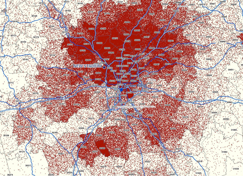 Braves Map