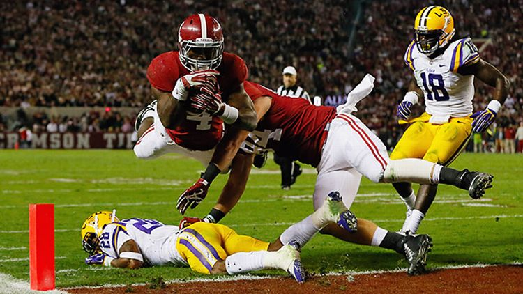 Alabama's T.J. Yeldon vs. LSU