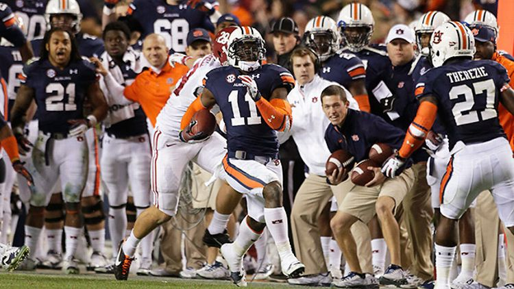 Chris Davis leads Auburn to victory over Alabama