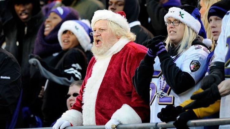 Santa Claus fan