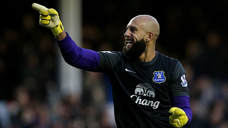 Tim Howard, Goalkeeper of Everton