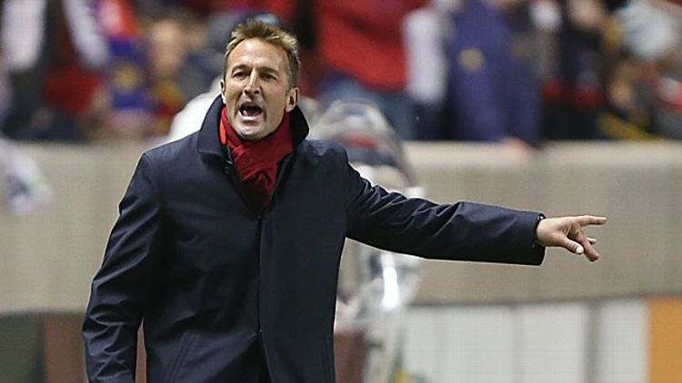 Head coach Jason Kreis of Real Salt Lake