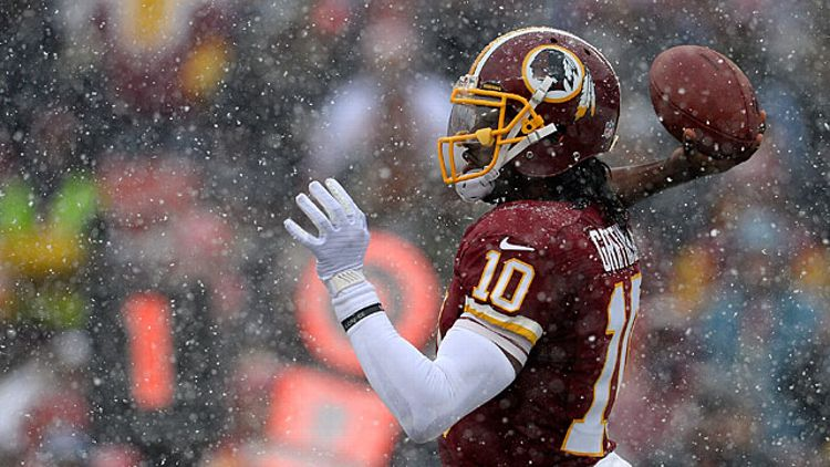 Quarterback Robert Griffin III