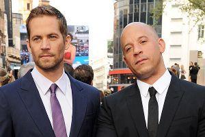 Paul Walker (L) and Vin Diesel