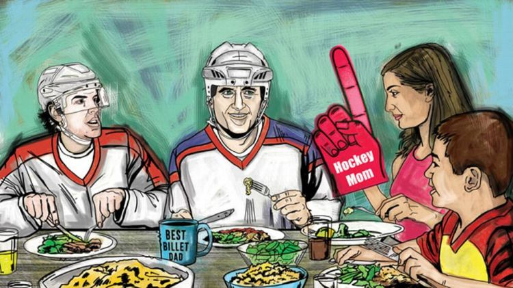 Billet Families Illustration - Illustration by Dustin Parker