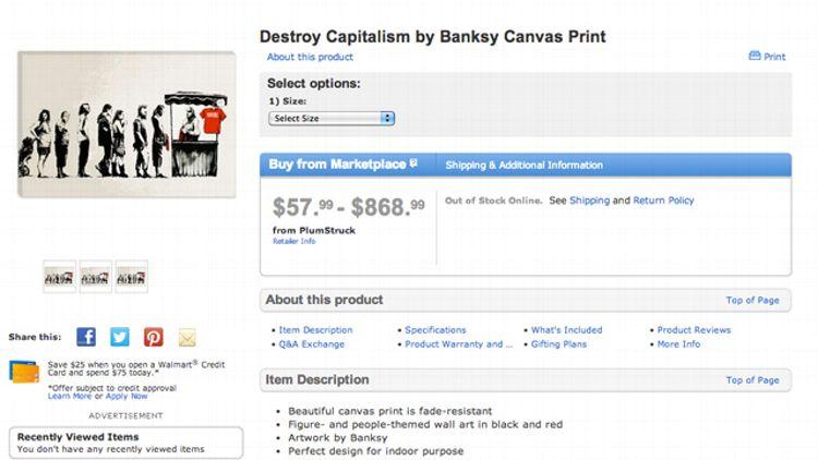Walmart and Banksy