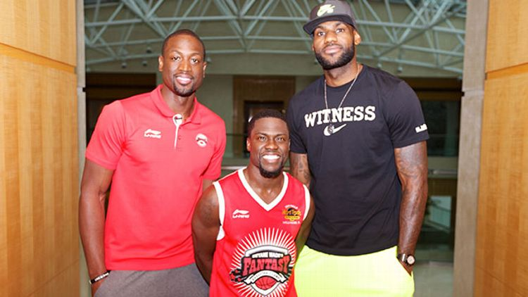 LeBron James, Kevin Hart