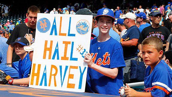 Matt Harvey fans