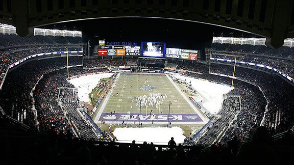 The Pinstripe Bowl at Yankee Stadium