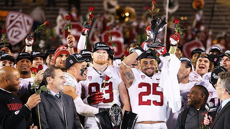 Stanford celebrates its Rose Bowl berth