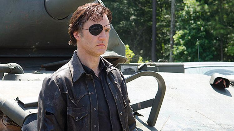The Governor on The Walking Dead's Season 4 midway finale (AMC)