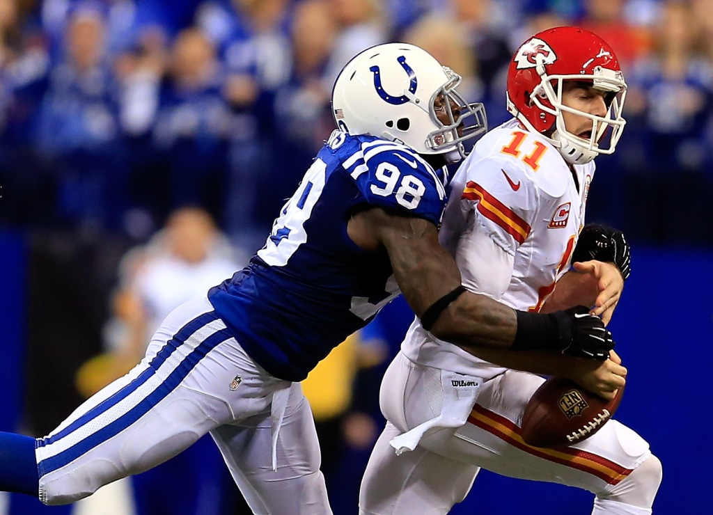Wild Card Playoffs - Kansas City Chiefs v Indianapolis Colts