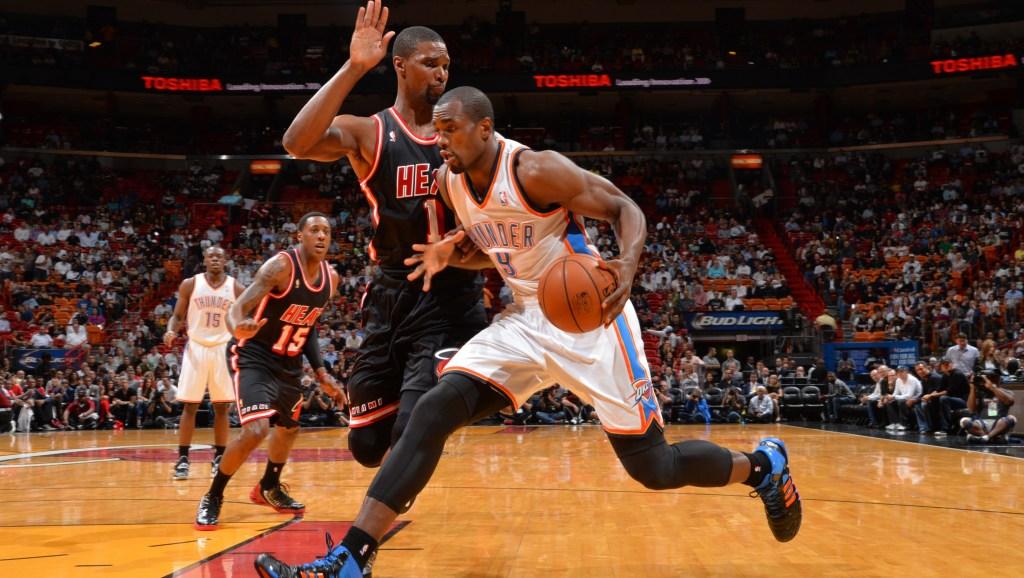 Oklahoma City Thunder v Miami Heat