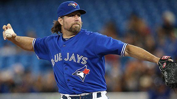 Toronto Blue Jays' R.A. Dickey