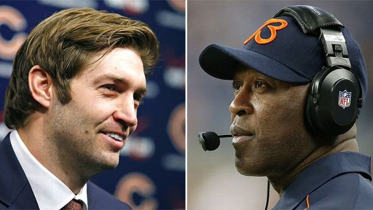 Jay Cutler and Lovie Smith
