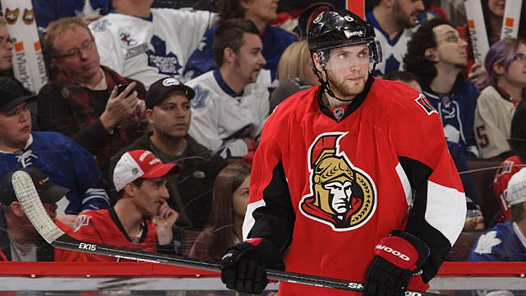 Bobby Ryan #6 of the Ottawa Senators
