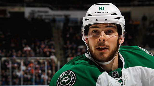 Tyler Seguin #91 of the Dallas Stars