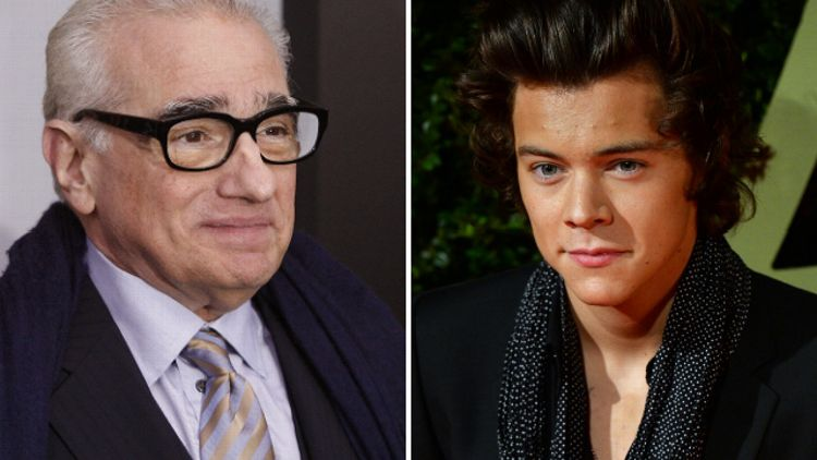 Martin Scorsese and Harry Styles